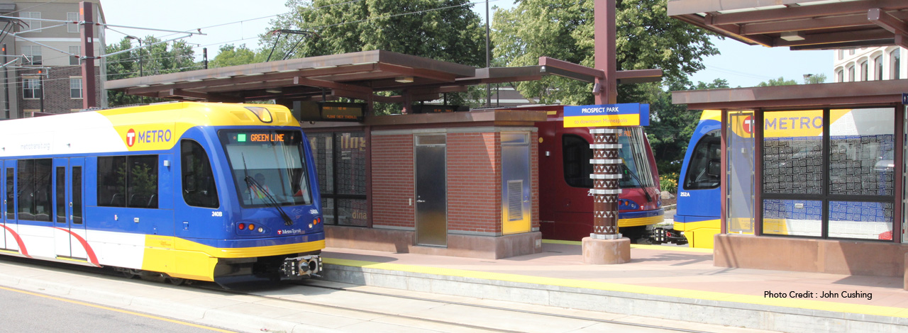 Prospect Park Minneapolis Light Rail Station